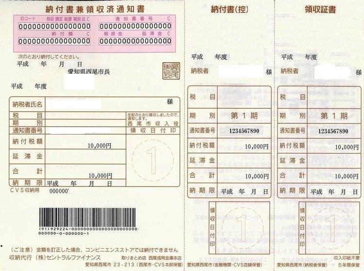 Thuế thị dân (住民税) là gì?